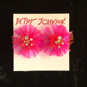 New Betsey Johnson beach party earrings